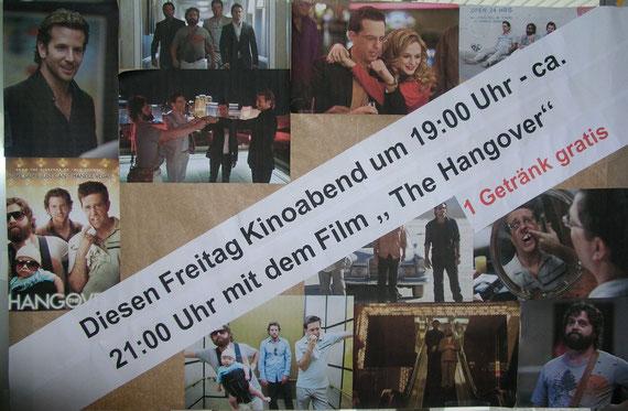 Filmabend vom 3. Dez. 2010 in der Aula der  Sekundarschule: 80 BesucherInnen!