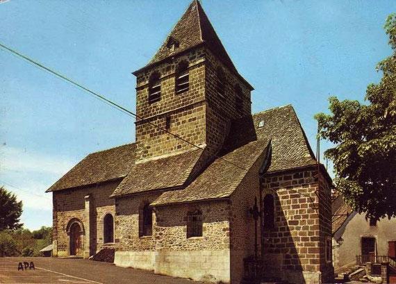 L'église de St Christophe-les-Gorges