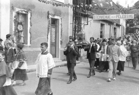 La procession en 1962