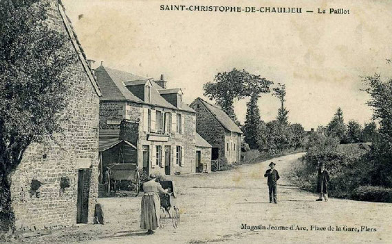 Le village au début du XXe siècle