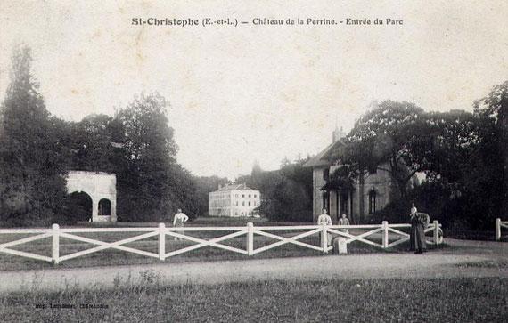 Le château de la Perrine