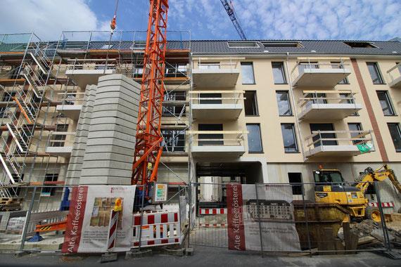 Juli 2016: Bald ist der Bau fertig!