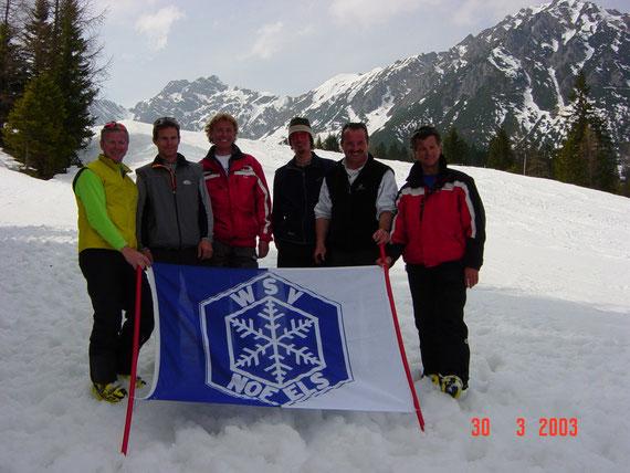 WSV Nofels Trainerteam 2002-2003