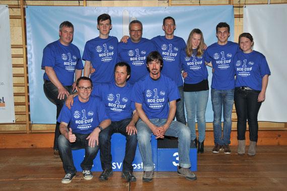 Trainerteam 2015-2016 - Bild vom 23.4.2016