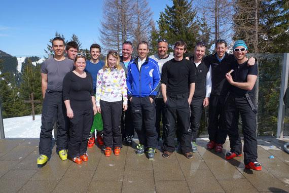 Trainerteam 2013-2014 (Foto vom 29.3.2014)