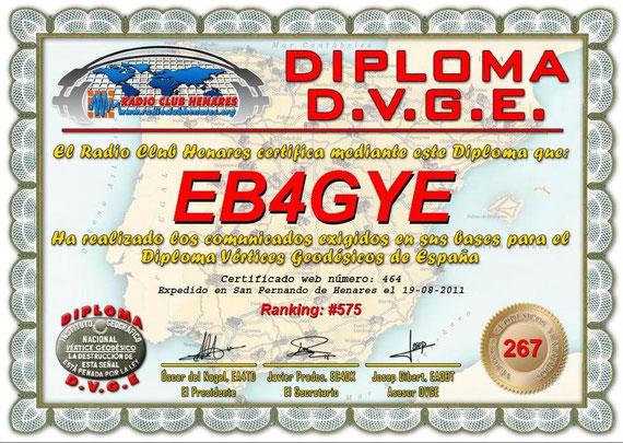 DIPLOMA D.V.G.E