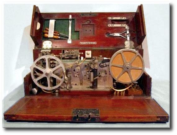 Cassetta telegrafica campale