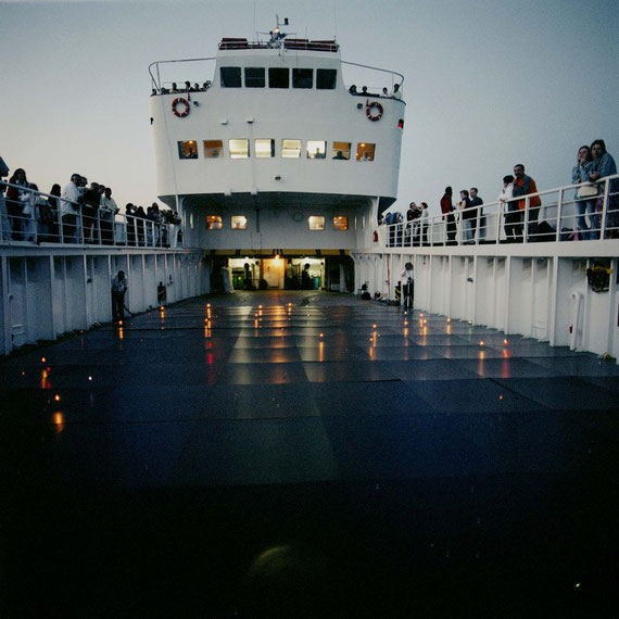 Light Houses at the Aegean Sea 1991-2003, George Hadjimichalis; Photo: Hans Labler