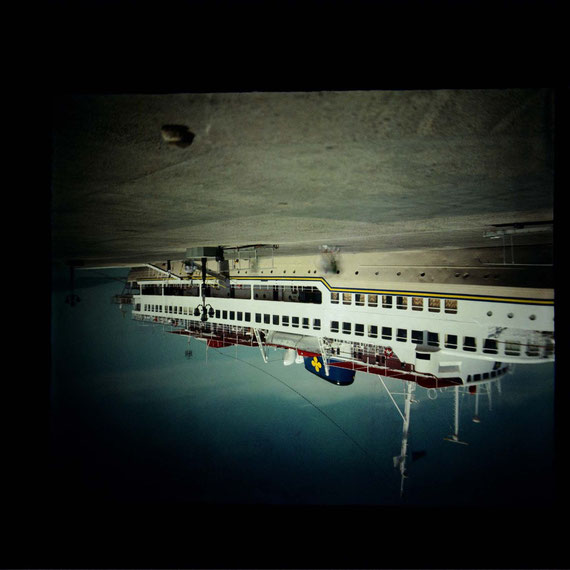 Lightmemory - Projection; Edgar Lissel; Photo: Hans Labler