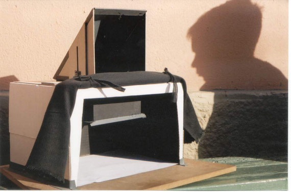 Camera Obscura - Tracing                                                                                                                             Images, Petros Athanassiou, Hill School, Athens