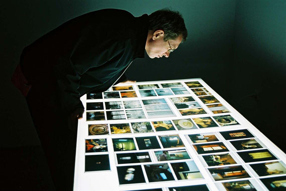 Light I Image I Reality - Atlas, Gustav Deutsch, Hanna Schimek, Photo: Hans Labler