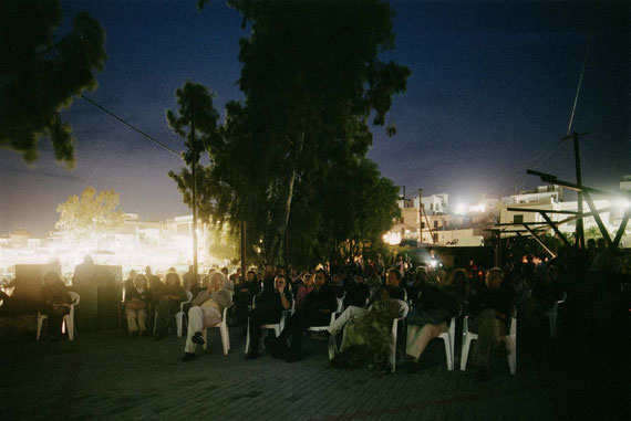 Bring Your Own Chair, Open Air Film Programm, Judith & Ralph Wieser; Photo: Hans Labler