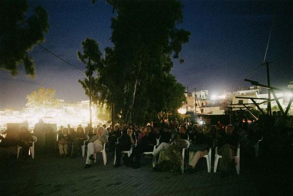 Bring Your Own Chair, Open Air Film Programm, Judith & Ralph Wieser; Photo: Hans Labler