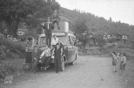 Coche de linea A Bergaza 1958