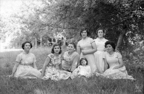 1958-grupo-feminino-Carlos-Diaz-Gallego-asfotosdocarlos.com