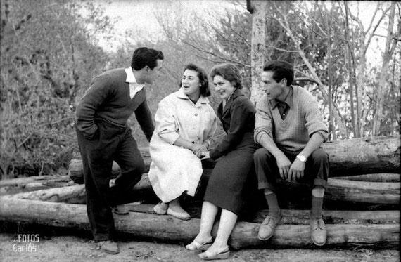 1958-Conversacion-Carlos-Diaz-Gallego-asfotosdocarlos.com