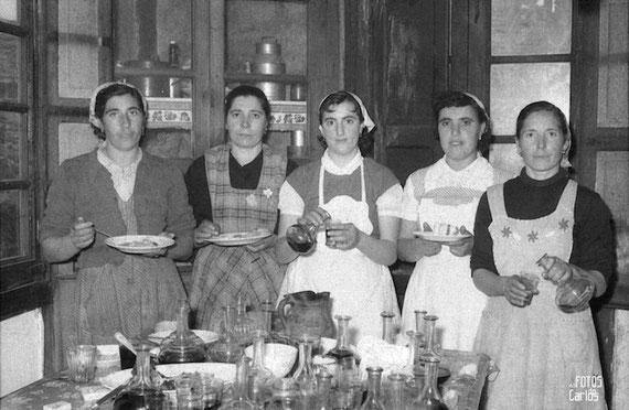 Parteme- Diciembre-1958-Cocineras-Carlos-Diaz-Gallego-asfotosdocarlos.com