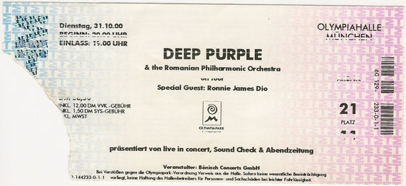Deep Purple Konzert München
