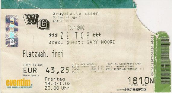 ZZ Top   anclicken Info zu Gary Moore