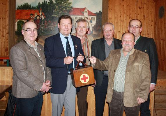 Steiner Martin, Drittenpreis Albert, Parsche Otmar, Suppmair Ernst, Loibl Anton, Steiner Helmut