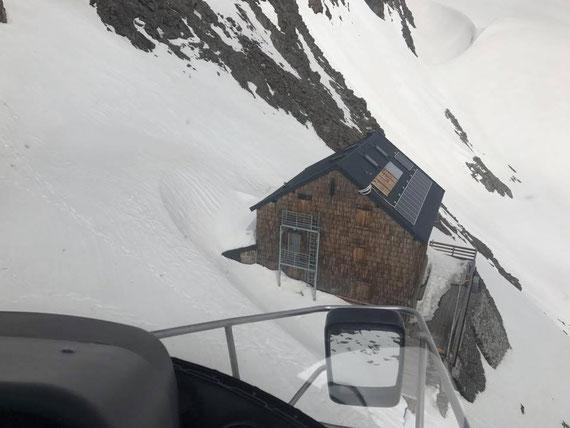 Müller Hütte Ridnauntal 3.145m