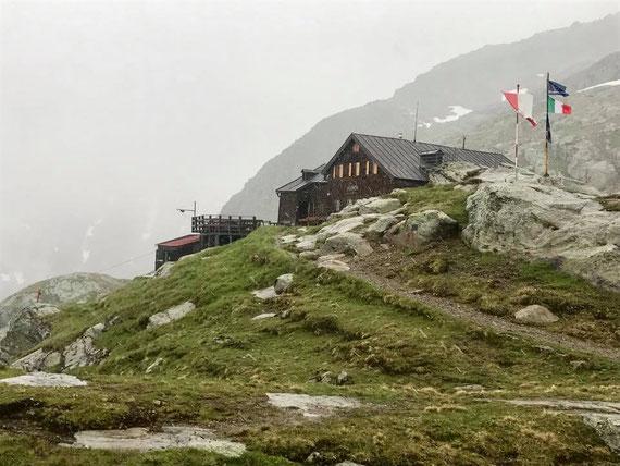 Magdeburger Hütte - Schlechtwetterfront zieht rein