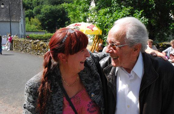 08/12 Nicole DANG et Altéro BETTI 93 ans à Spontour (19)