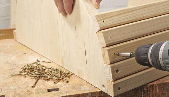 Holzpferd bauen mit dem richtigen Holzpferd Bausatz.