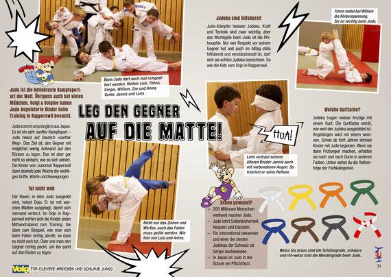Judo macht Spass