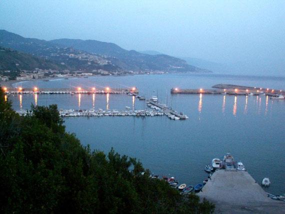 Cetraro,il porto.