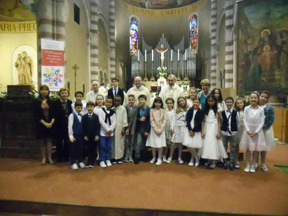 S.Messa con prima comunione eucaristica 14-5-2017