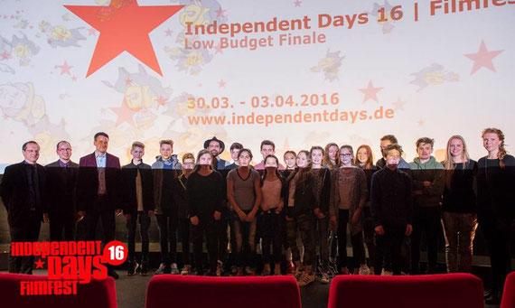Die Workshop-Teilnehmer bei der Premiere auf den Independent Days (Bildnachweis: Fugefoto / DIMA Photography)