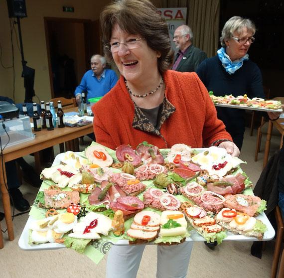 das kam gut an: Doris's Catering