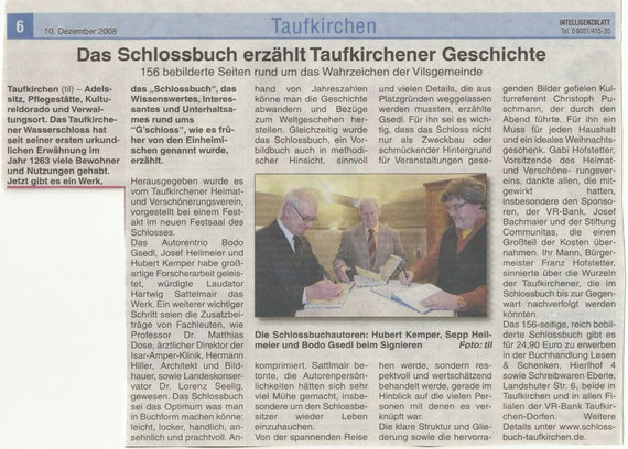 Intelligenzblatt, Dezember 2008