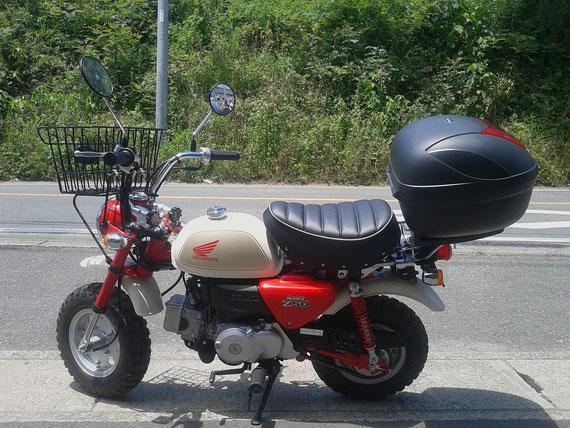 自転車の 自転車 福岡市東区 : 新古車 ホンダ モンキー 入荷