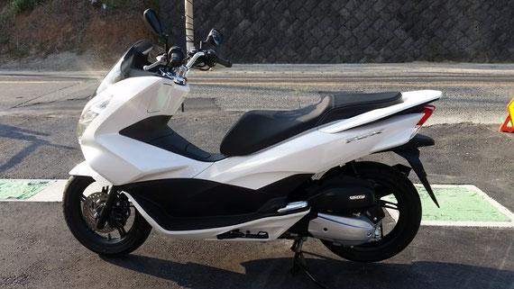 ホンダ PCX125-2 パールホワイト 新古車 福岡
