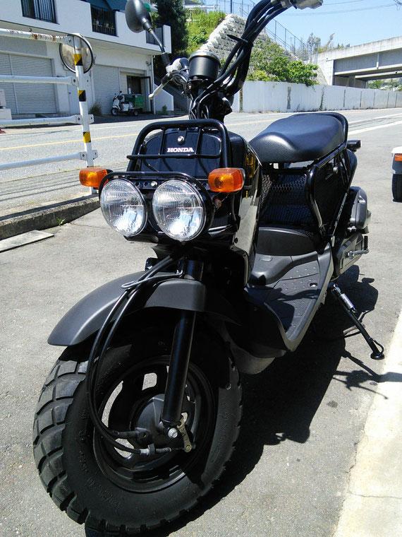 ホンダ ZoomerFI 黒