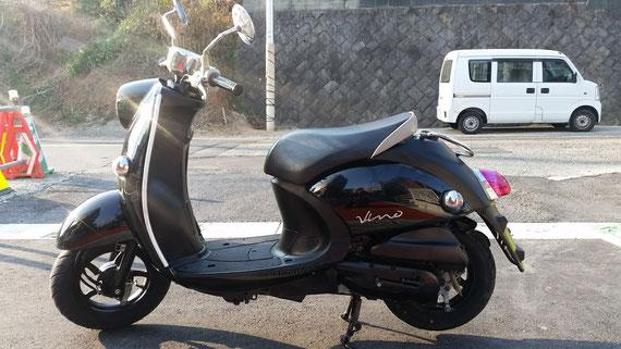 ヤマハ ビーノ 黒 福岡 中古バイク