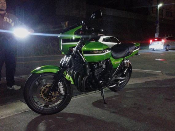 カワサキ ZRX400-2 緑