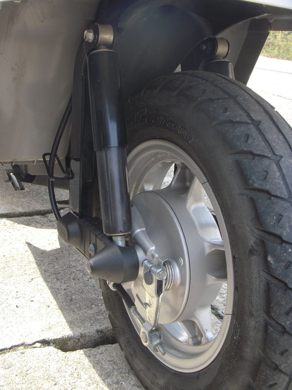 ホンダ ジャイロX2型 前輪