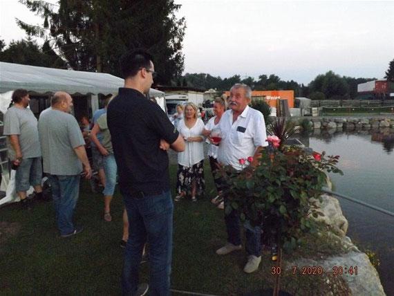 Clubabend am Teich 2020