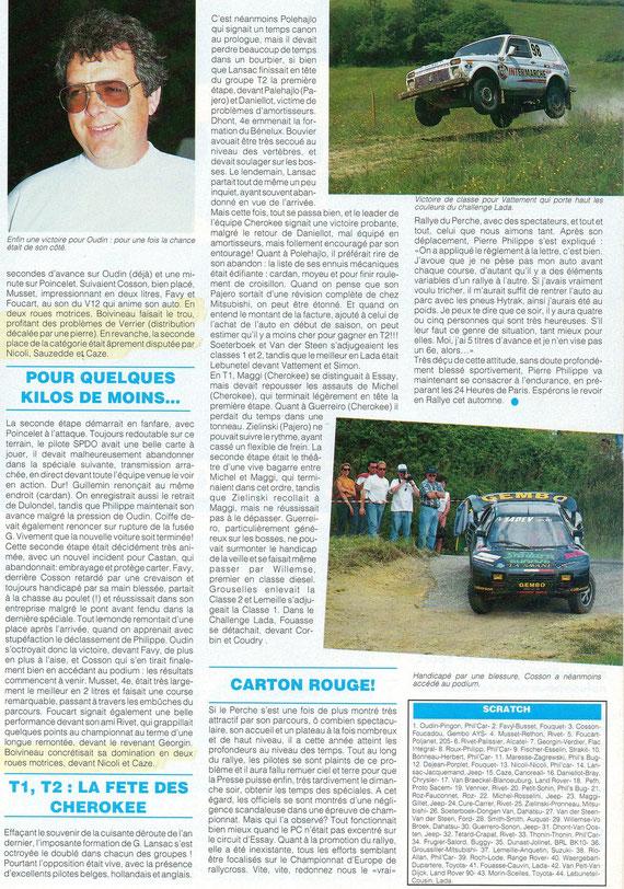 1995 - Compte Tours - Le Perche
