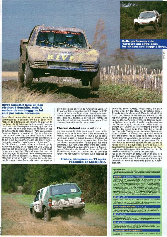 1993 - Rallyes Magazine - Dunes & Marais