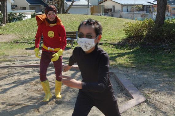 ワンパクマン VS ウイルスマン