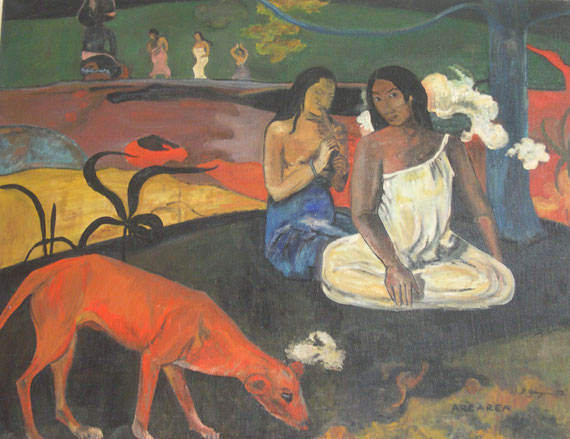 Le chien jaune Paul Gauguin