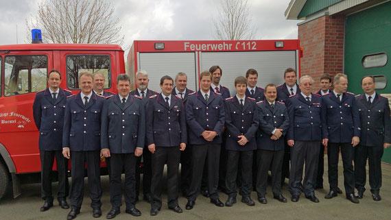 Die Freiwillig Feuerwehr Borstel