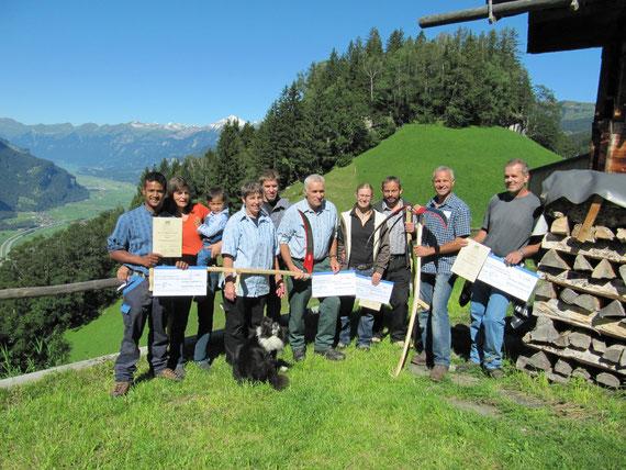 Die Gewinner des Kulturlandschaftspreises 2010