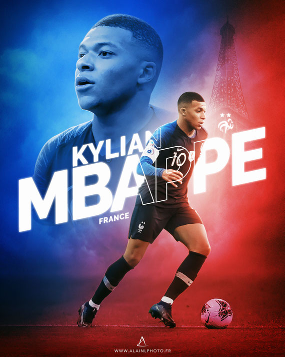Kylian Mbappé - Équipe de France