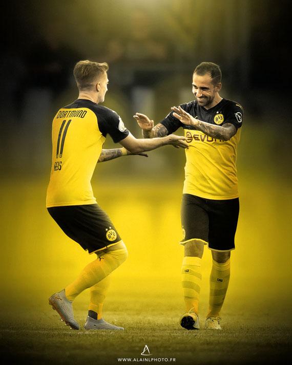 Marco Reus et Paco Alcácer - Dortmund