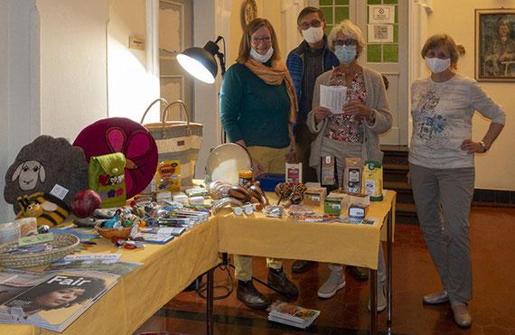 Katholische Fachschule Sancta Maria in Bruchsal – Fairtrade-Stand am Tag der Offenen Tür.